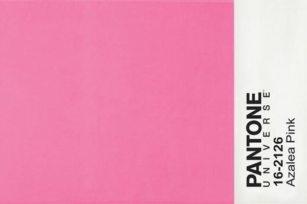 Telo mare cimato di spugna in puro cotone BASSETTI Pantone Universe - Azalea Pink